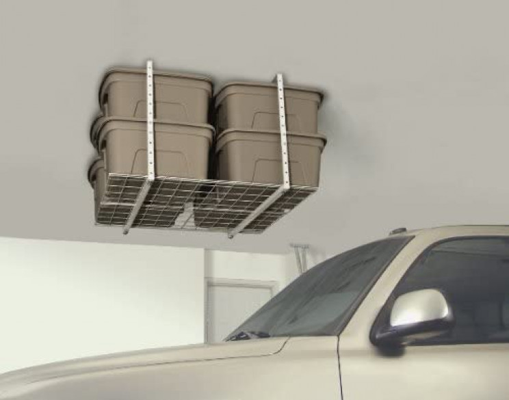 garage organizing overhead