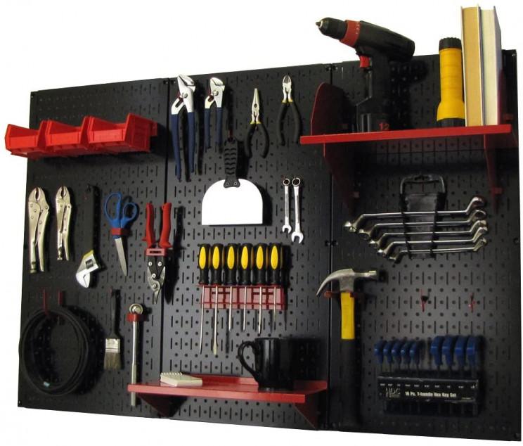 genius garage organizer ideas pegboard