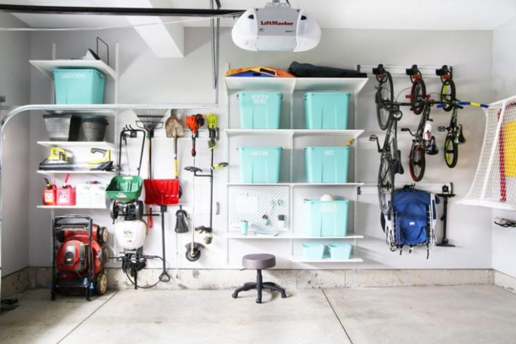 genius garage organization ideas zones