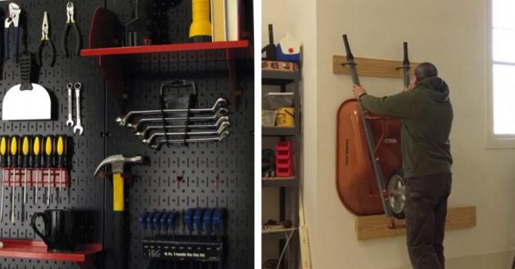 17 Genius Garage Organizing Ideas for Engineers