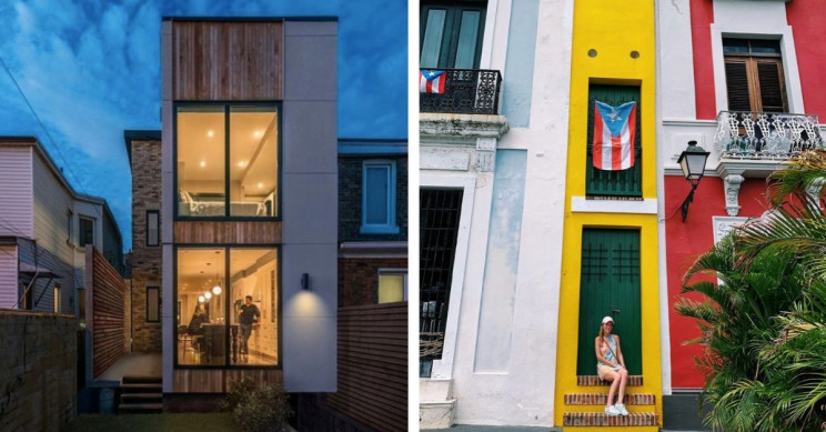11 Extraordinary Narrow House Designs from Around the World That Fit Everywhere