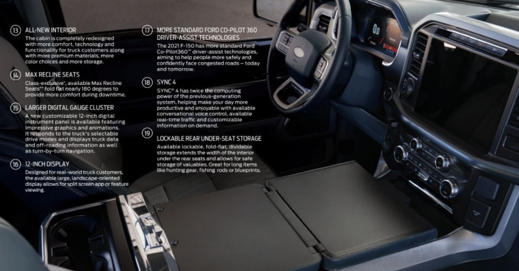 Ford F-150 Features 2