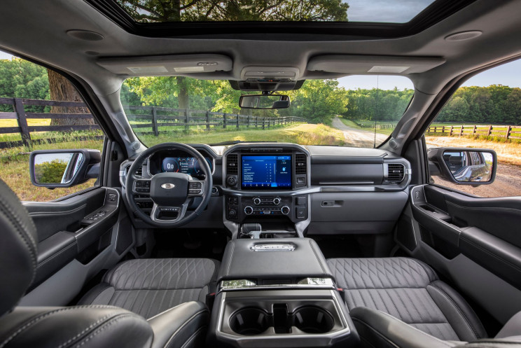 Ford F-150 Front Interior