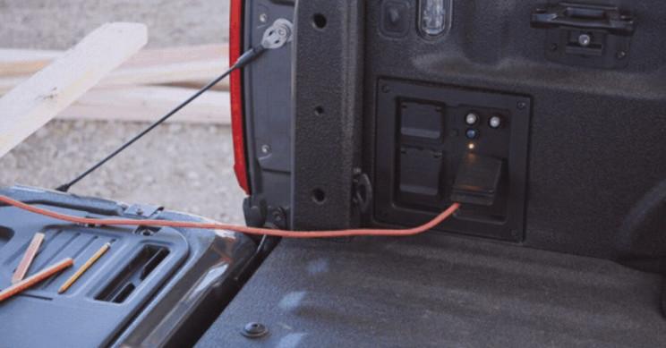 Ford F-150 Pro Power Generator Itself
