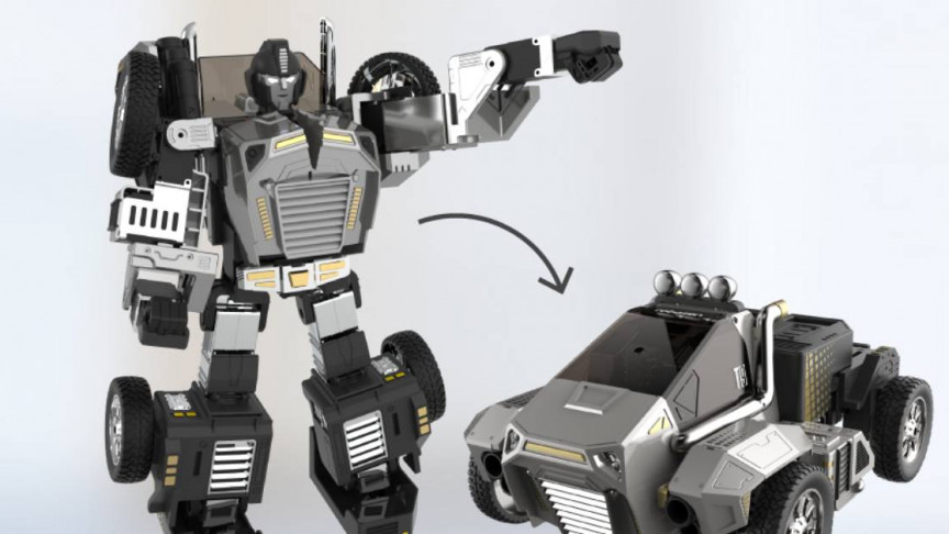 There Was a Real Transformer Toy at CES 2020 - Interesting Engineering