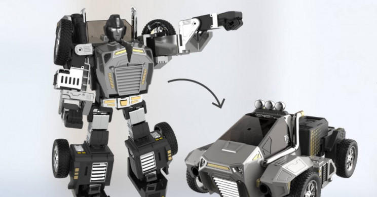 There Was a Real Transformer Toy at CES 2020