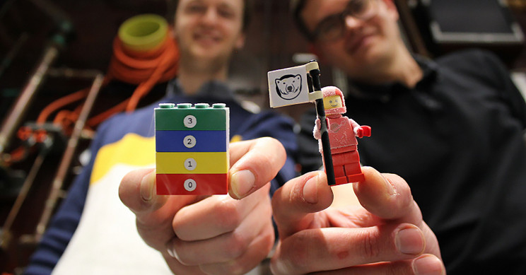 Scientists have determined this is the coolest Lego in the world
