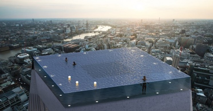 A 360-degree Infinity Pool is Coming to London