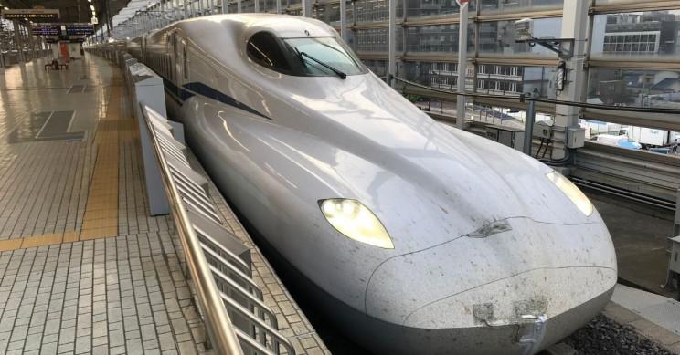 New Japanese N700S Bullet Train Makes Debut on Tokyo-Osaka Line