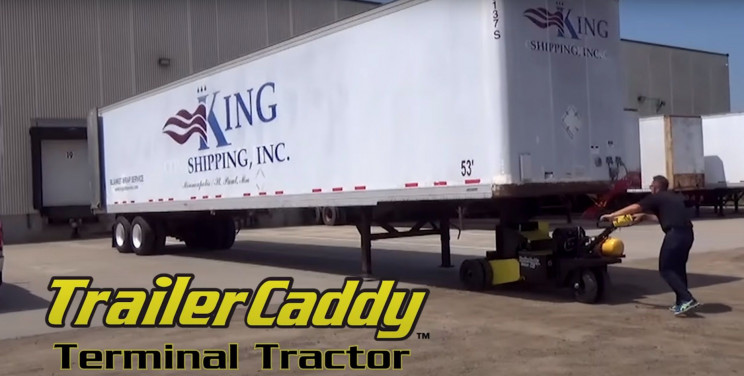 trailercaddy trailer movers in operation