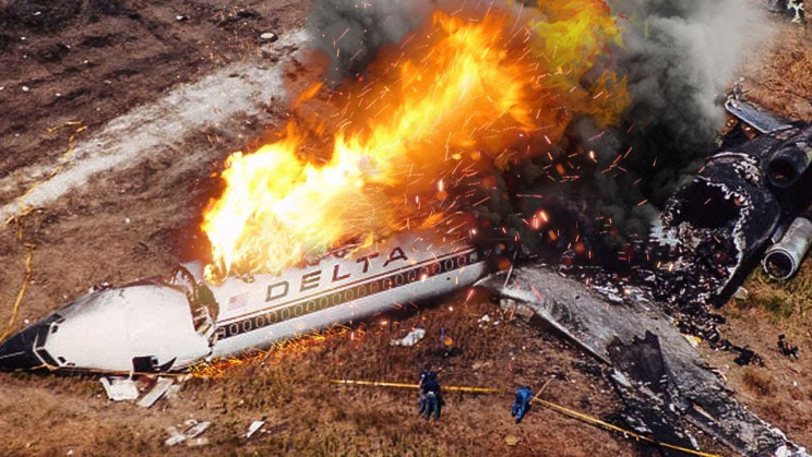 plane crashes delta 191