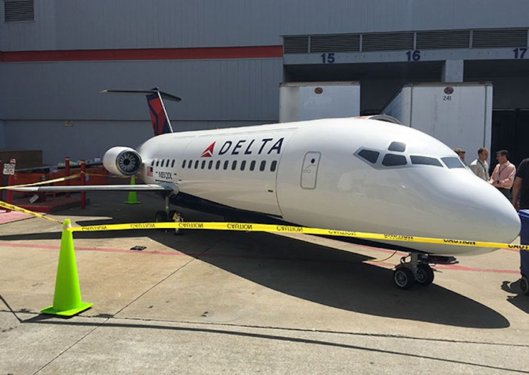 Delta Techs Transform Boeing 757 Engine into an Epic BBQ Grill