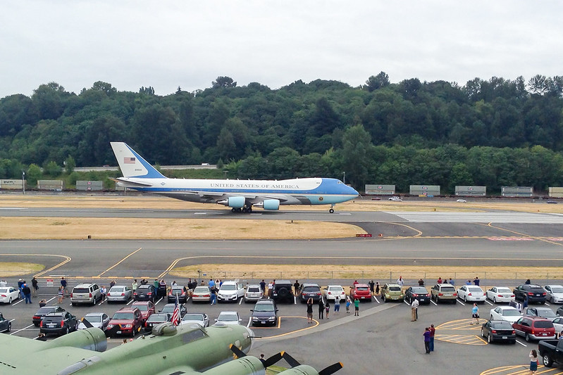 air force one on apron
