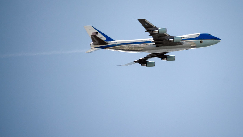 Air Force One refuelling