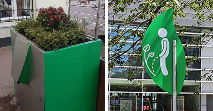 Amsterdam Gets Sustainable Urinals to Reduce Public Peeing