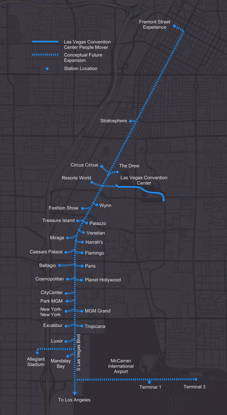 Boring Company's Vegas Loop Tunnel Grows After Winning Casino Project