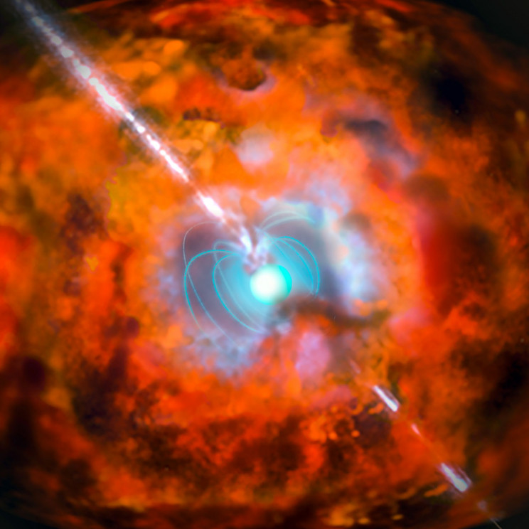 A Magnetar Could Tear Iron From Your Blood Atom by Atom Even From 1,000 Miles