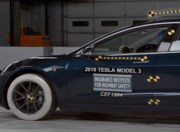 Tesla Model 3 Earns the 2019 Insurance Institute for Highway Safety (IIHS) Top Safety Pick