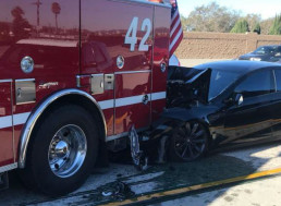 Driver Was Using Autopilot Incorrectly in Recent LA Crash of Tesla Model S, NTSB Says