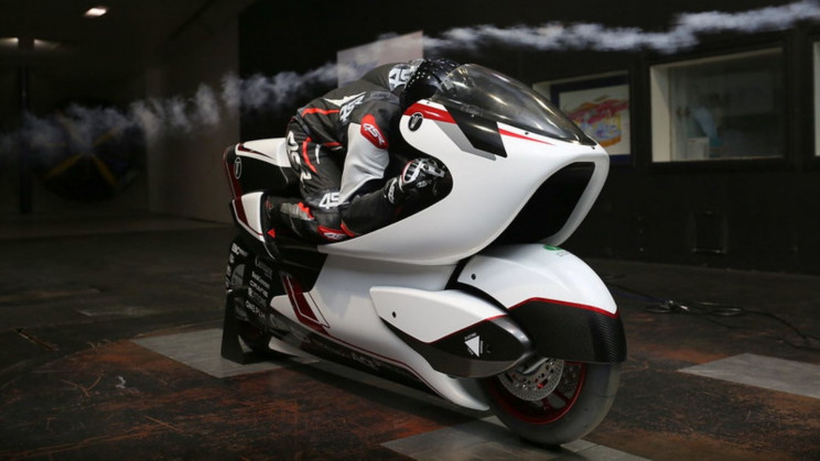 At 250 MPH, This Strange Ride is the 'World's Fastest Electric Motorcycle'