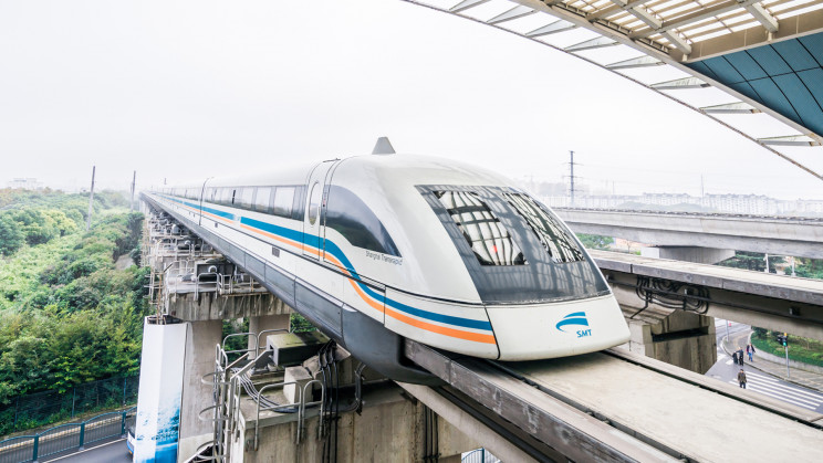 New 372-Mph Maglev Train Rolls Off the Assembly Line in China