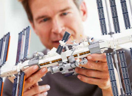 Lego Releases International Space Station Set and Sends It up to Space