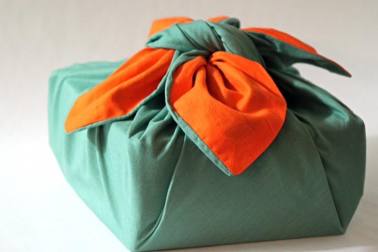 christmas wrapping furoshiki