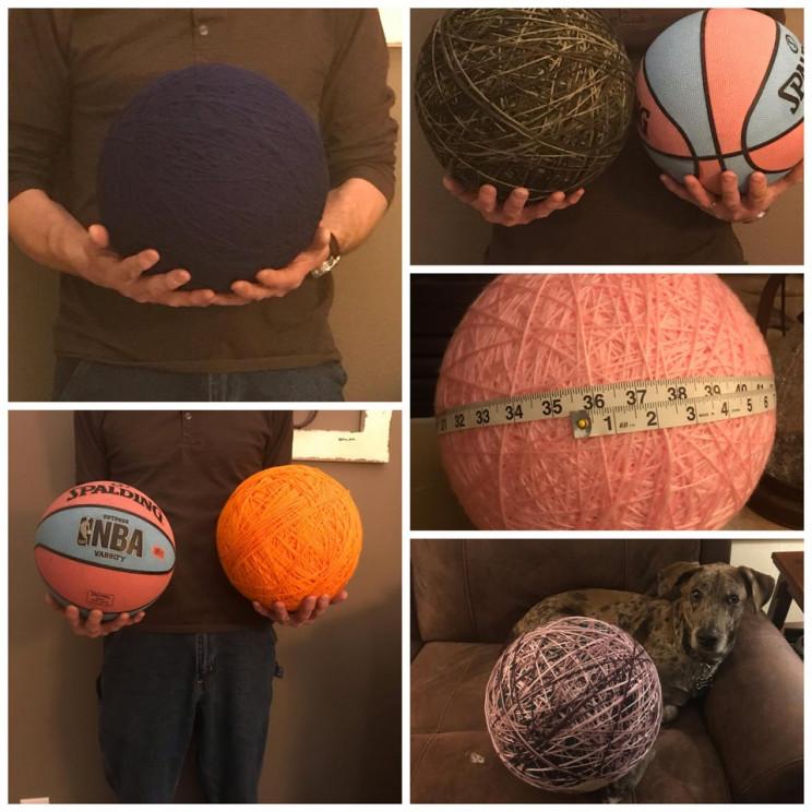 geometry skills christmas yarn
