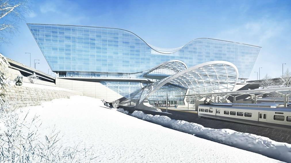 futuristic airports denver