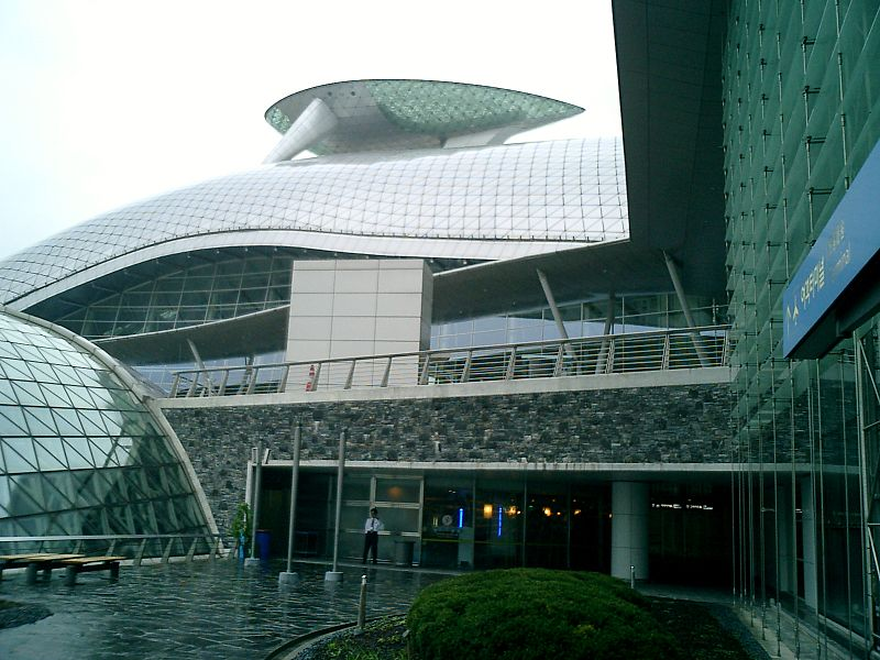 futuristic airport incheon