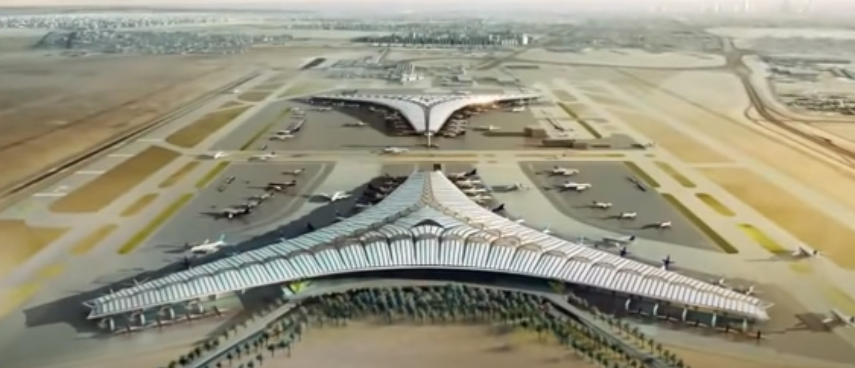 futuristic airports kuwait