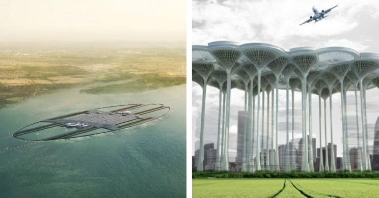 13 Futuristic Airport Designs