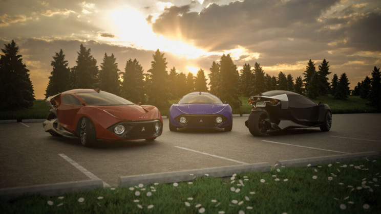 World's Fastest Three-Wheeled Electric Vehicle Is in the Works