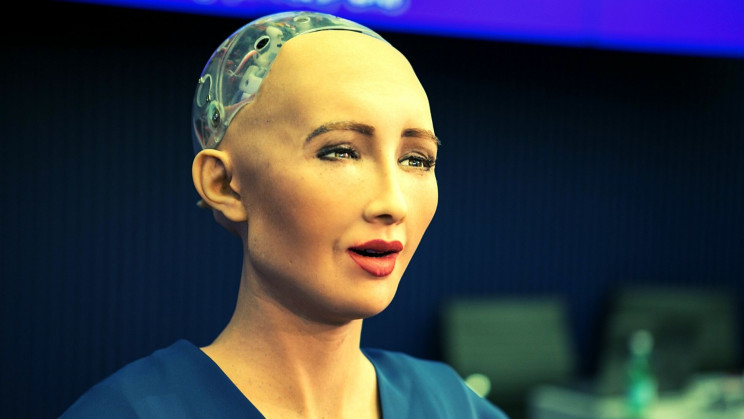 Remember Sophia? The First Robot-Made NFT Artwork Just Sold for Nearly $700,000