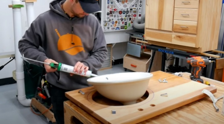 diy vanity sink bowl