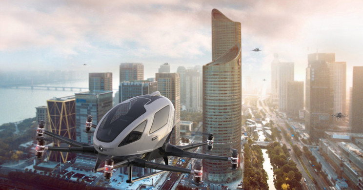 EHang to Test Its Electric Passenger Drones in Norway and Spain