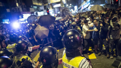 Hong Kong Police Have AI Facial Recognition Software