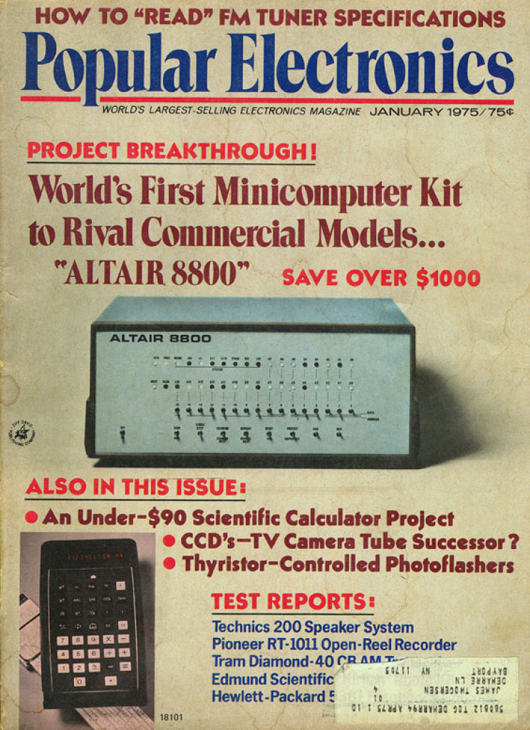 history of microsoft popular electronics