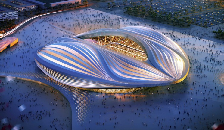 "Qatar's World Cup Stadium Has Been Unveiled and People Are Calling It A ""Giant Vagina"""