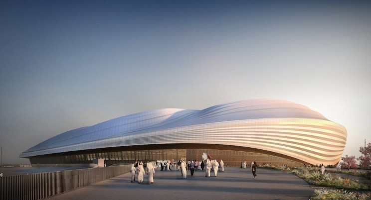 """Qatar's World Cup Stadium Has Been Unveiled and People Are Calling It A """"Giant Vagina"""""""