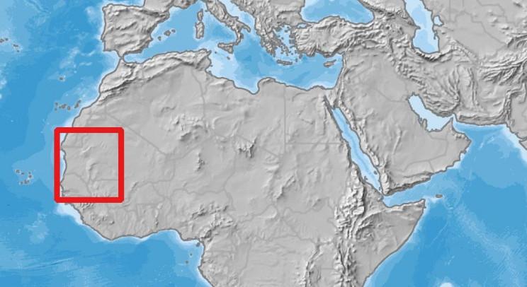 West Africa Study Area