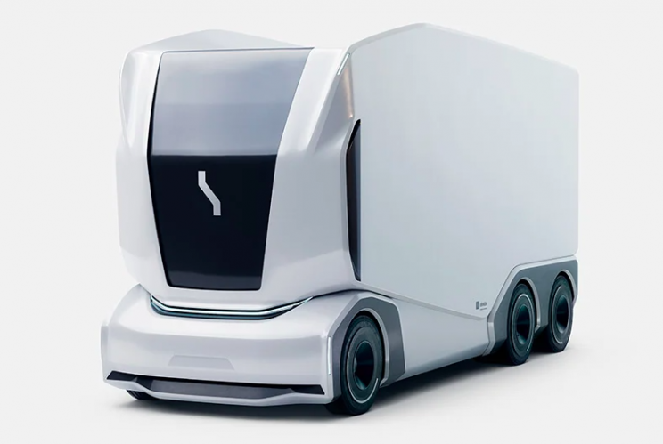 Futuristic All-Electric Autonomous Delivery Pods Now Available Worldwide