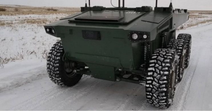 Russia's Unmanned Ground Vehicle Treks up 18-mile Path