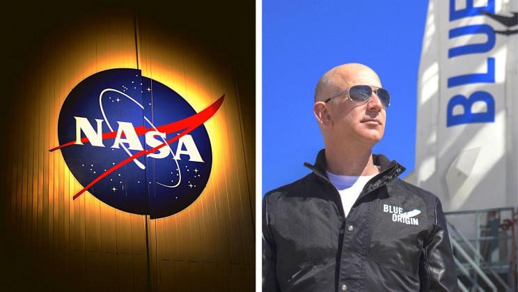 NASA Says Blue Origin 'Gambled' Its Chance to Build a Lunar Lander Away