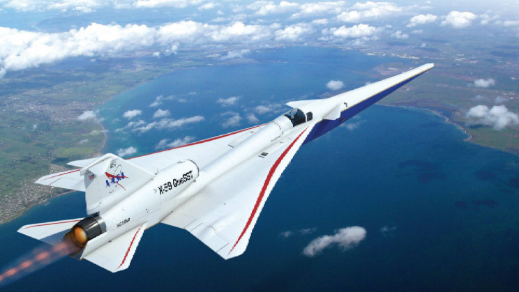 NASA's Low-Noise Supersonic Plane Has No Front Window. Here's How They See Through