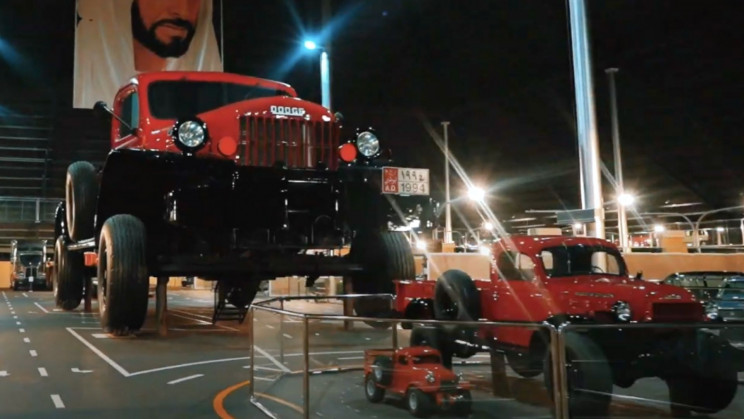 World's Reportedly Largest Pickup Truck Has 4 Bedrooms, Weighs 50 Tons