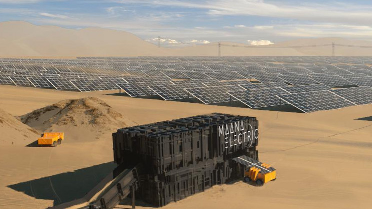 New 'Terraboxes' Turn Electricity and Sand Into Solar Panels