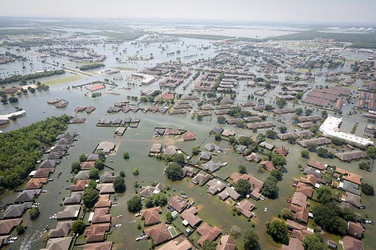 Flood Due to Hurricane Harvey