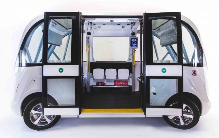 self-driving buses in Norway