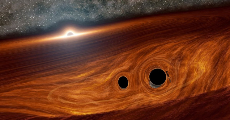 Black Hole's Merger With Mysterious Object Stuns Scientists